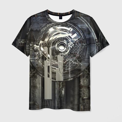 Мужская футболка 3D Sci-Fi
