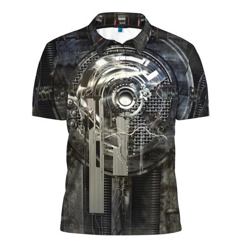 Мужская рубашка поло 3D Sci-Fi