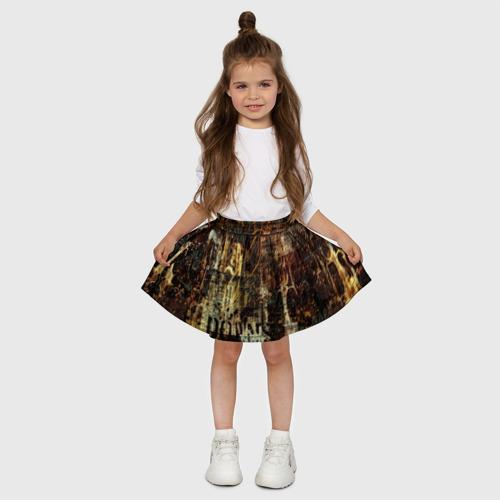 Детская юбка-солнце 3D  Фото 03, Гранж