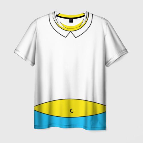 Мужская футболка 3D Футболка Гомера Симпсона