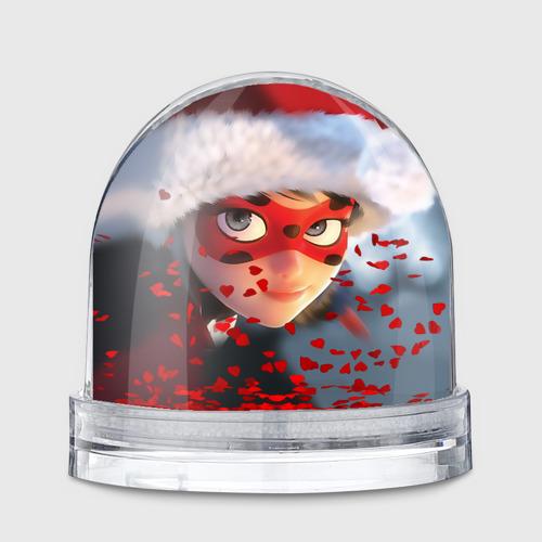 Новогодняя леди Баг 1