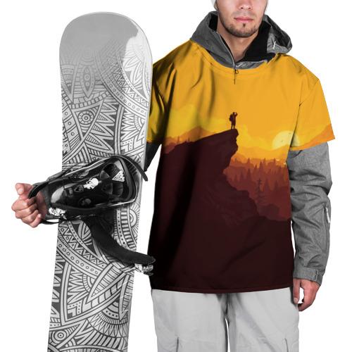 Накидка на куртку 3D  Фото 01, Firewatch