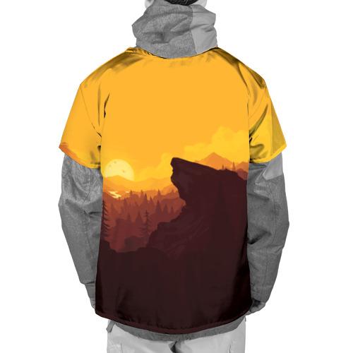 Накидка на куртку 3D  Фото 02, Firewatch