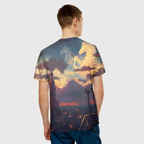 Мужская футболка 3D  Фото 02, Закат