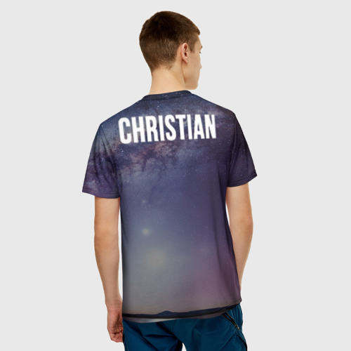 Мужская футболка 3D Судьба