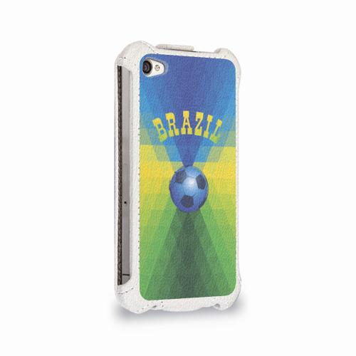 Чехол для Apple iPhone 4/4S flip  Фото 02, Бразилия