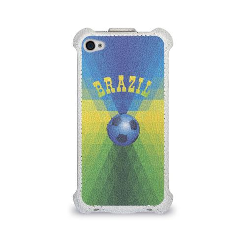Чехол для Apple iPhone 4/4S flip  Фото 01, Бразилия