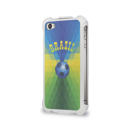 Чехол для Apple iPhone 4/4S flip  Фото 03, Бразилия
