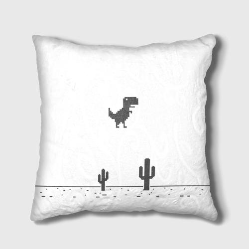Подушка 3D  Фото 01, T-rex game