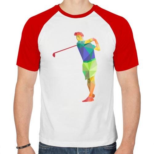 Мужская футболка реглан  Фото 01, Гольфист