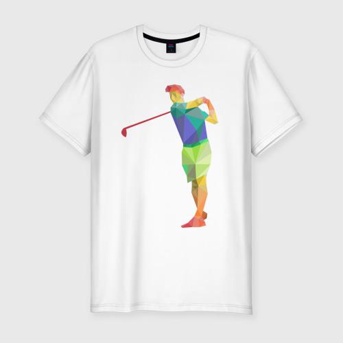 Мужская футболка премиум  Фото 01, Гольфист