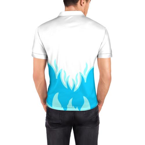 Мужская рубашка поло 3D  Фото 04, Sans undertale