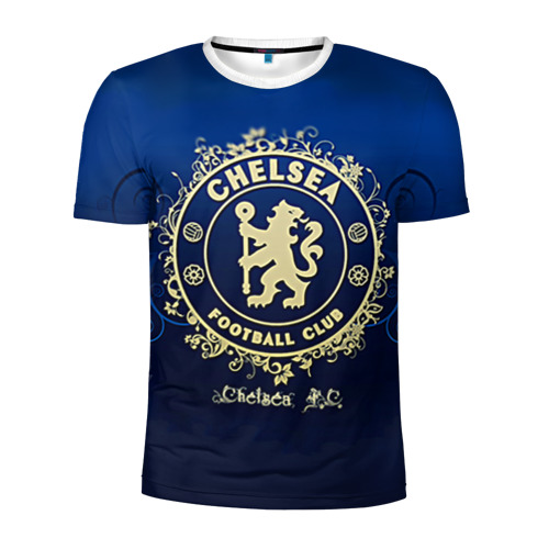 Мужская футболка 3D спортивная Chelsea