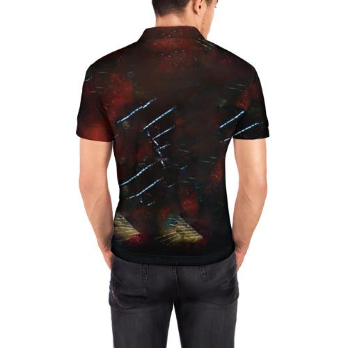 Мужская рубашка поло 3D  Фото 04, Bayern