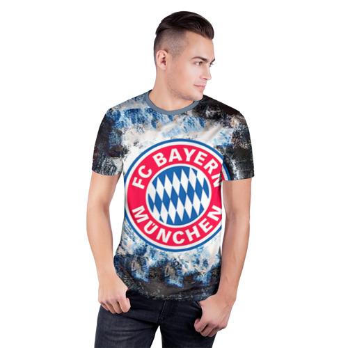 Мужская футболка 3D спортивная  Фото 03, Bayern