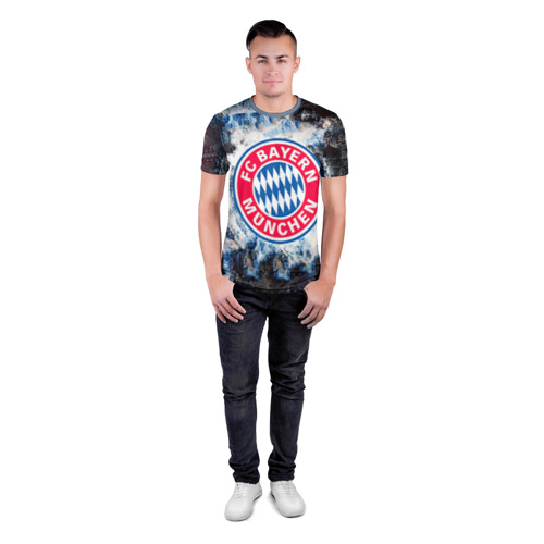 Мужская футболка 3D спортивная  Фото 04, Bayern