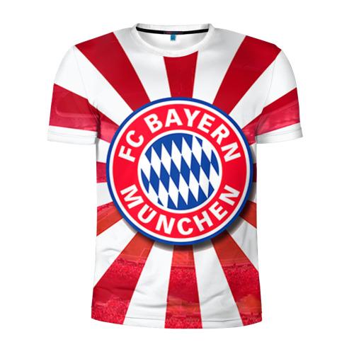 Мужская футболка 3D спортивная  Фото 01, Bayern