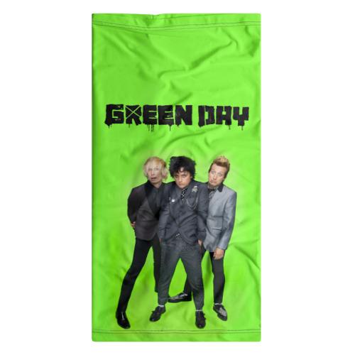Бандана-труба 3D  Фото 07, Green Day