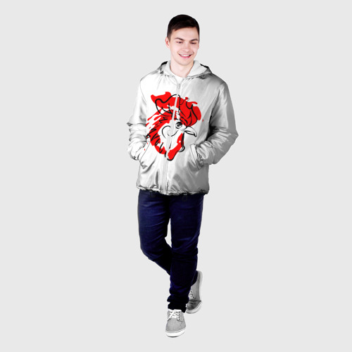 Мужская куртка 3D  Фото 03, Огненный Петух