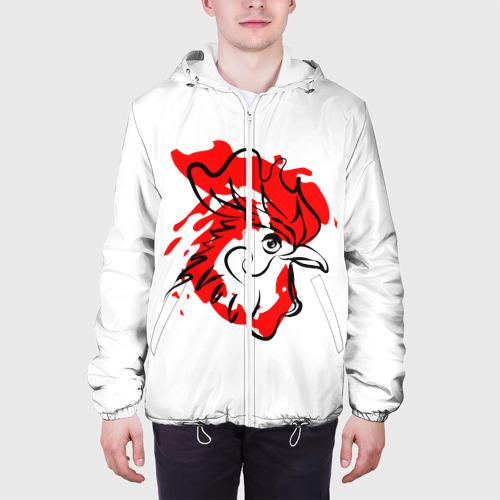 Мужская куртка 3D  Фото 04, Огненный Петух