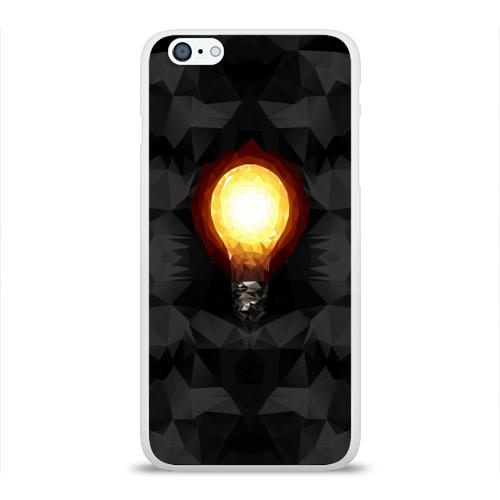 Чехол для Apple iPhone 6Plus/6SPlus силиконовый глянцевый  Фото 01, Лампочка