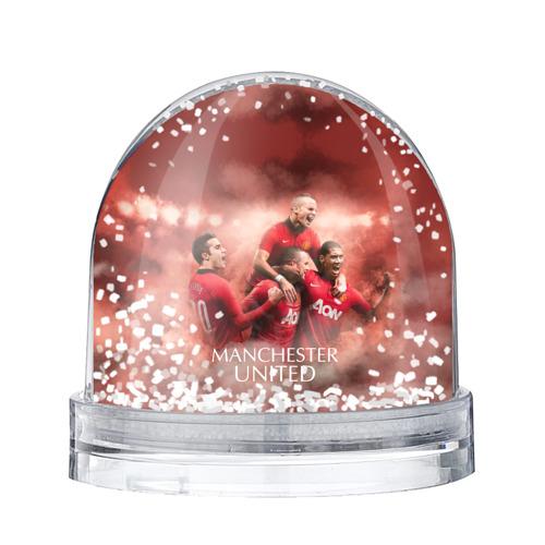 Водяной шар со снегом Manchester United