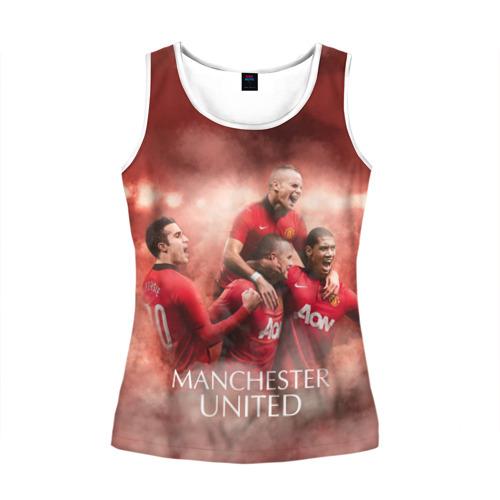 Женская майка 3D  Фото 01, Manchester United