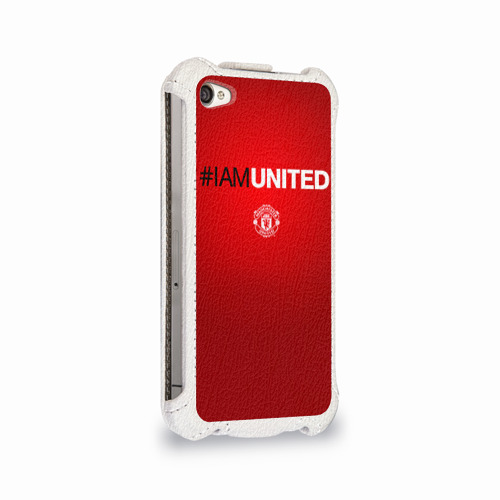 Чехол для Apple iPhone 4/4S flip  Фото 02, I am United