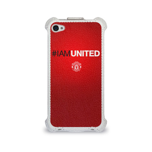 Чехол для Apple iPhone 4/4S flip  Фото 01, I am United