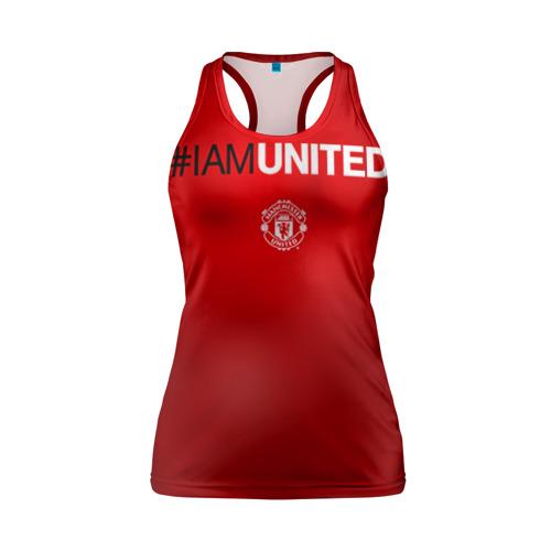 Женская майка 3D спортивная I am United