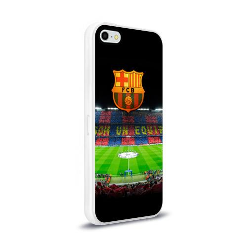 Чехол для Apple iPhone 5/5S силиконовый глянцевый  Фото 02, Barcelona4