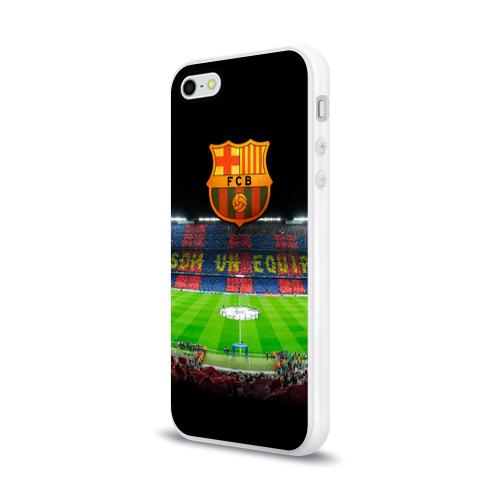 Чехол для Apple iPhone 5/5S силиконовый глянцевый  Фото 03, Barcelona4