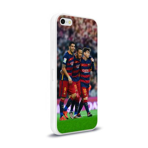 Чехол для Apple iPhone 5/5S силиконовый глянцевый  Фото 02, Barcelona5