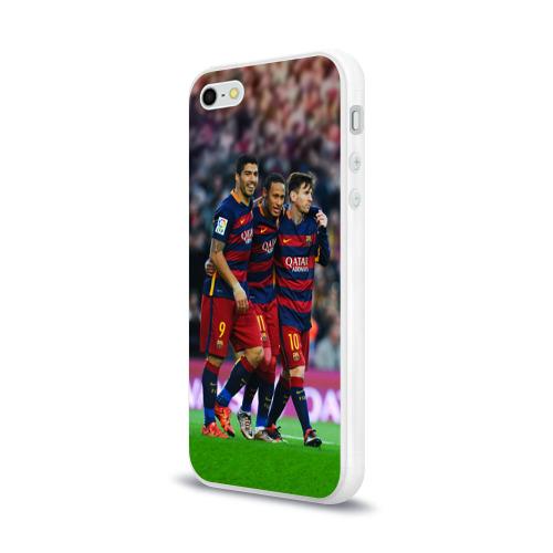 Чехол для Apple iPhone 5/5S силиконовый глянцевый  Фото 03, Barcelona5