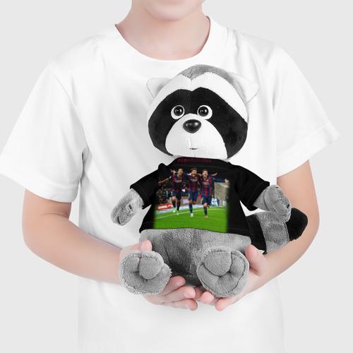Енотик в футболке 3D Barcelona6 Фото 01