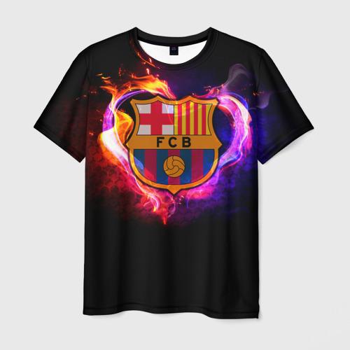 Мужская футболка 3D  Фото 01, Barcelona7