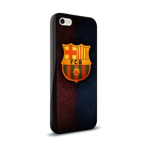 Чехол для Apple iPhone 5/5S силиконовый глянцевый  Фото 02, Barcelona8