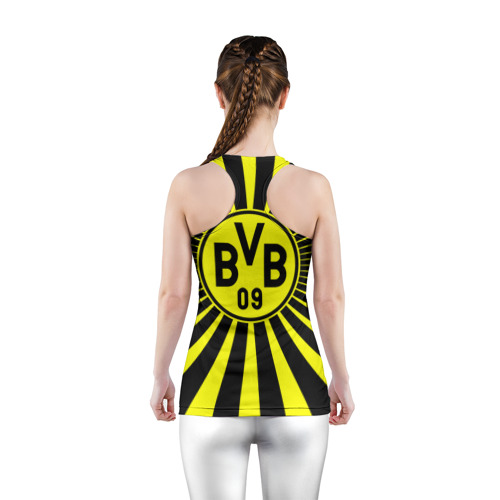 Женская майка 3D спортивная  Фото 04, Borussia1