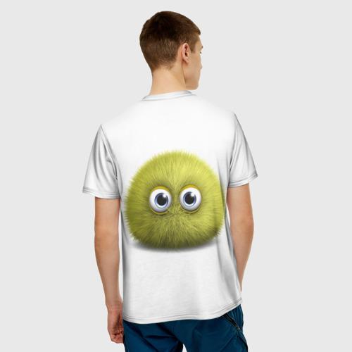 Мужская футболка 3D  Фото 02, Монстр