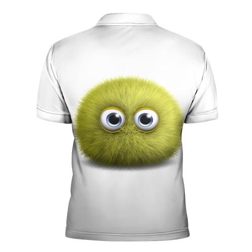 Мужская рубашка поло 3D  Фото 02, Монстр