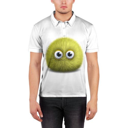 Мужская рубашка поло 3D  Фото 03, Монстр