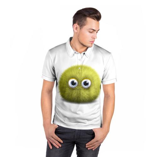 Мужская рубашка поло 3D  Фото 05, Монстр