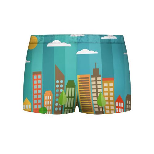 Мужские трусы 3D  Фото 02, Город