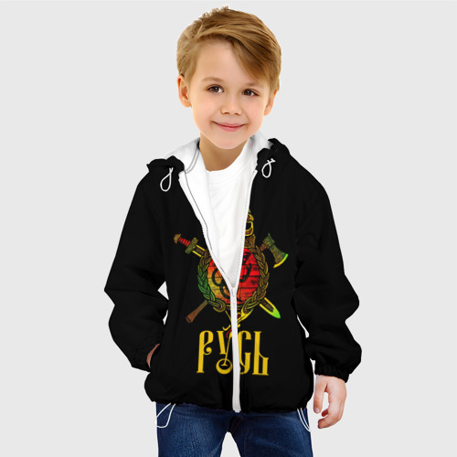Детская куртка 3D  Фото 03, Русь