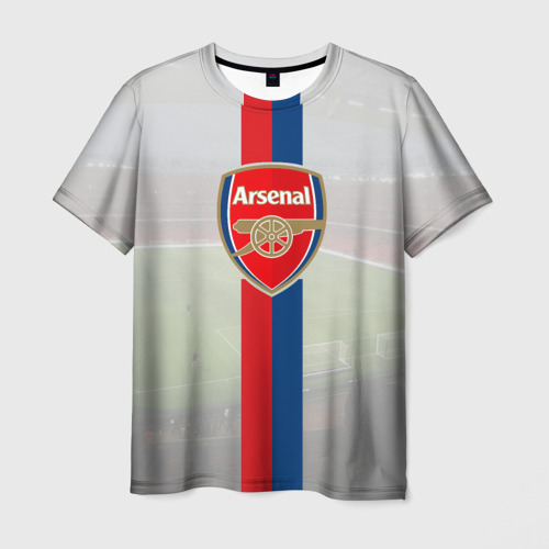 Мужская футболка 3D  Фото 01, Арсенал
