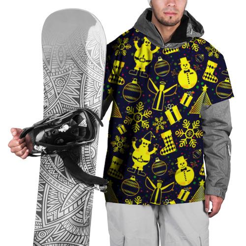 Накидка на куртку 3D  Фото 01, Новогодний