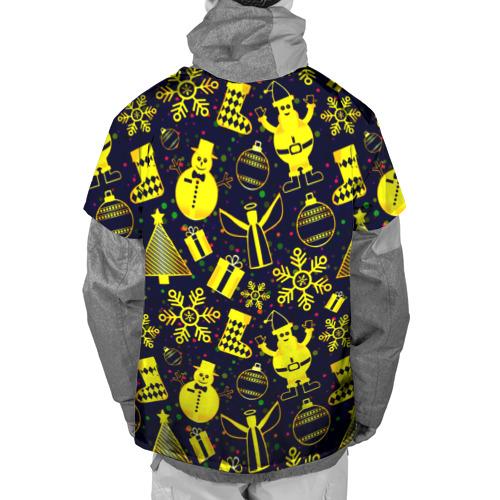 Накидка на куртку 3D  Фото 02, Новогодний
