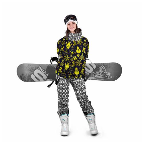 Накидка на куртку 3D  Фото 05, Новогодний