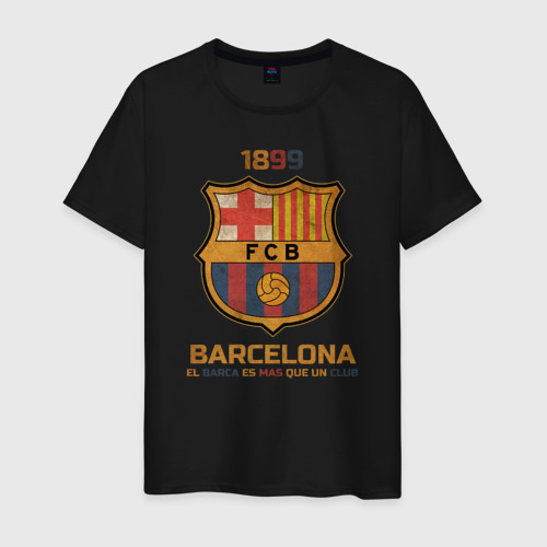 Мужская футболка хлопок Barcelona2 Фото 01
