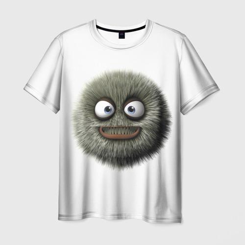 Мужская футболка 3D Монстр